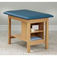 Clinton Taping Table With End Shelf