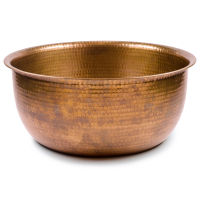 Pedicure Bowls by Noel Asmar - Hammered Copper