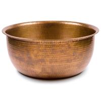 Pedicure Bowls by Noel Asmar - Hammered Copper