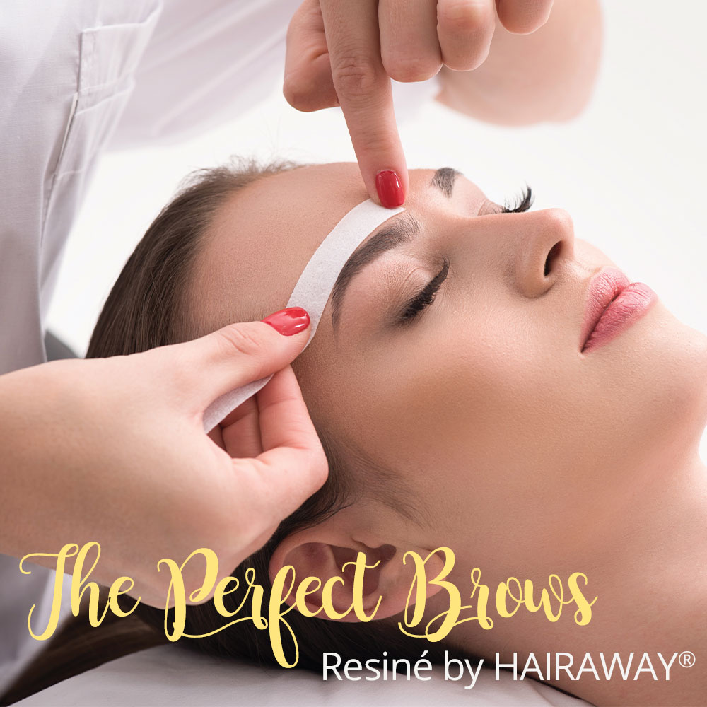 The Perfect Brows with Resine by HAIRAWAY®