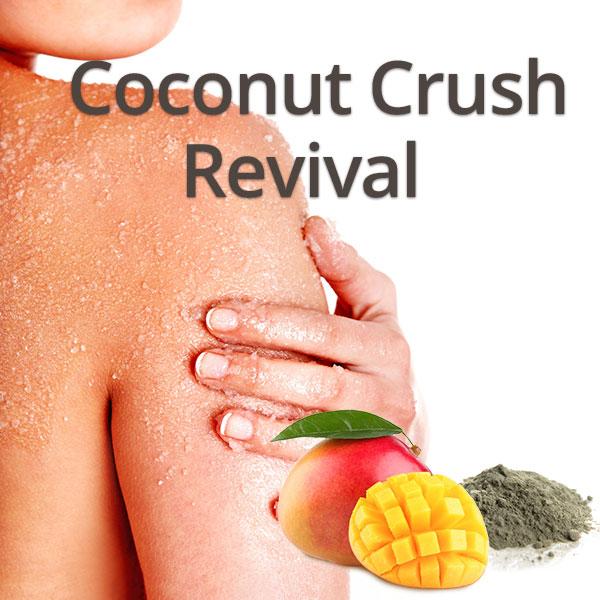 Biotone Coconut Crush Revival Full Body Exfoliation and Massage