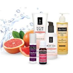 Pink Grapefruit Squeeze Massage - Signature Treatment Series