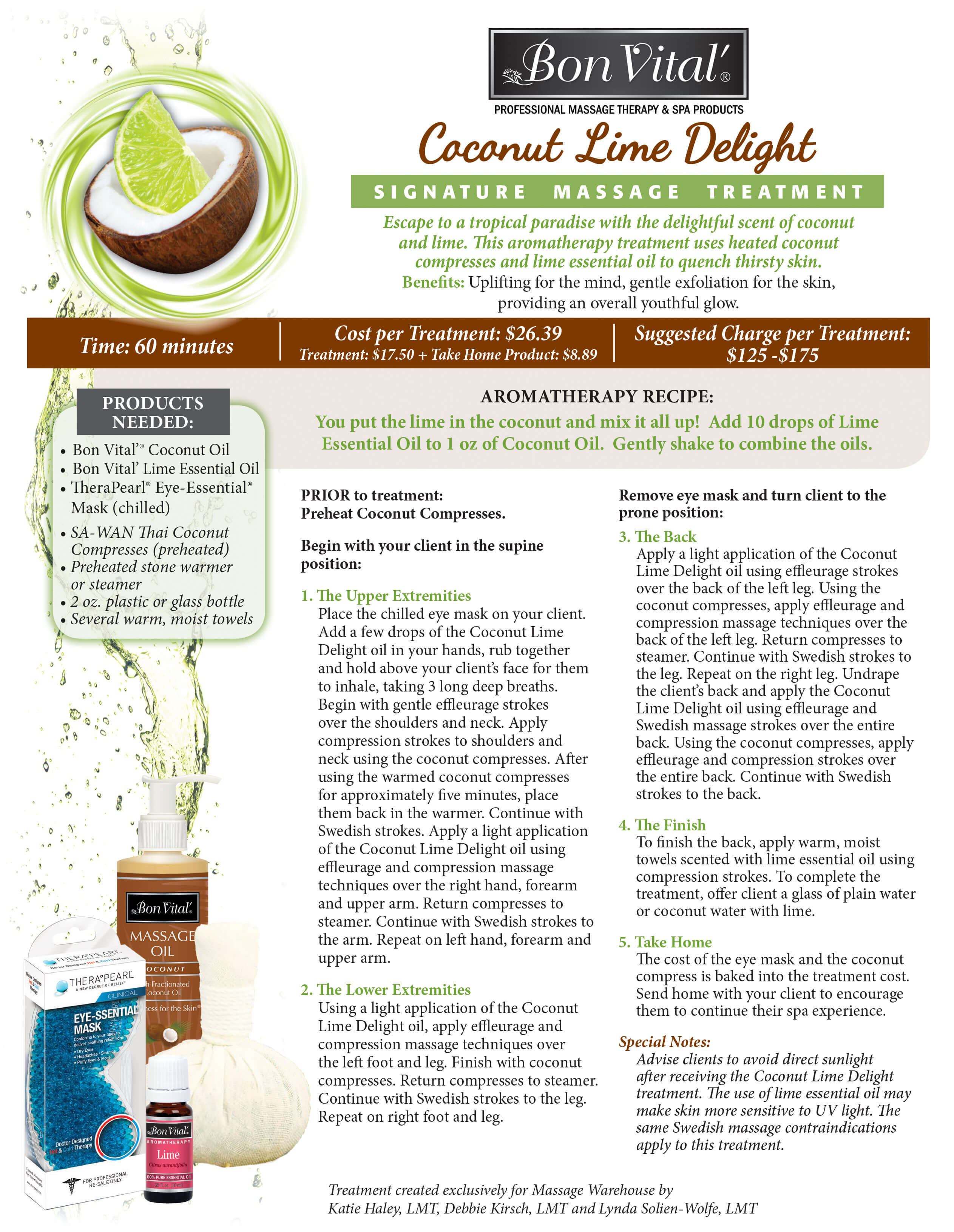 Coconut Lime Delight