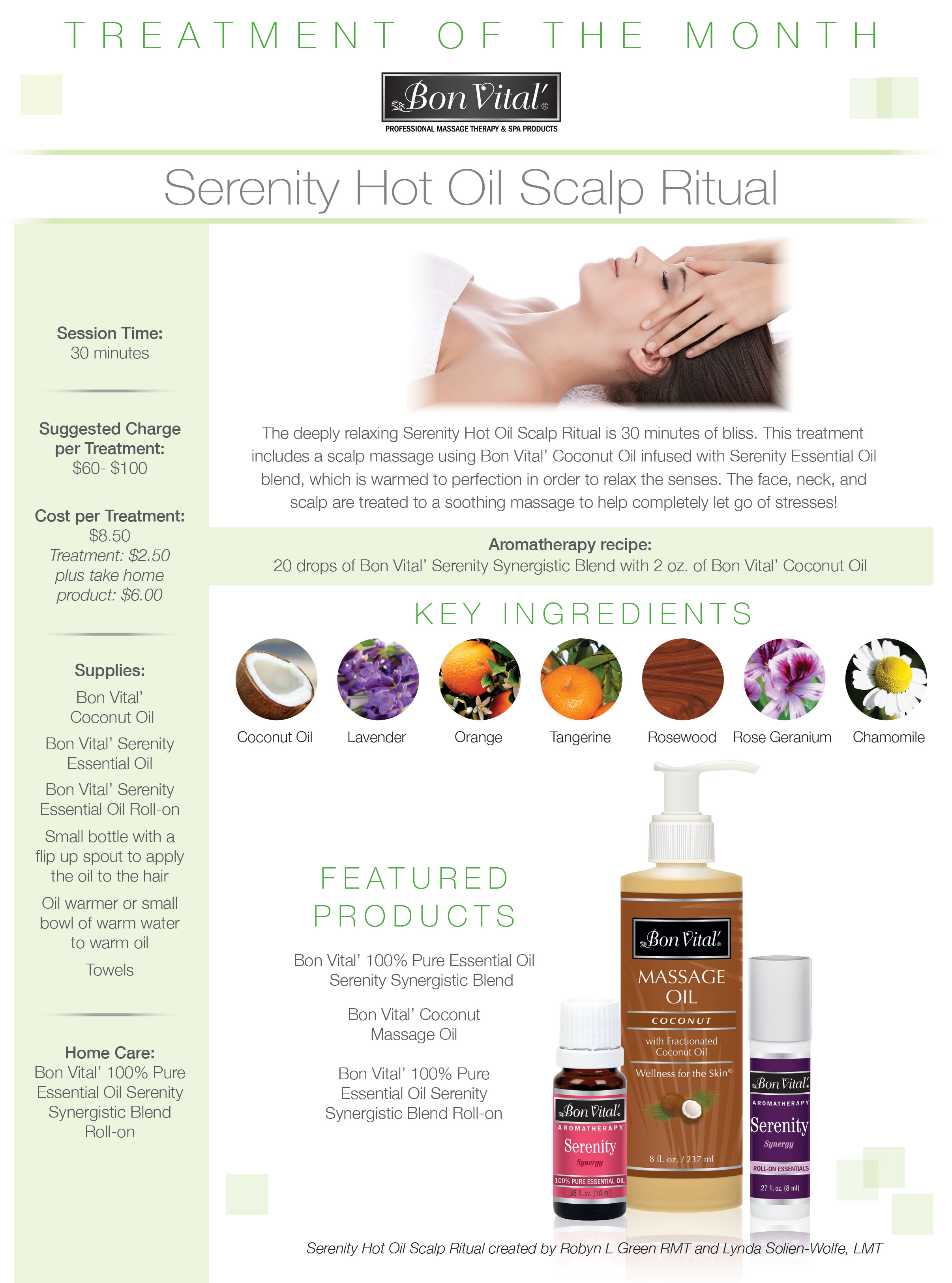 Serenity Hot Oil Scalp Ritual