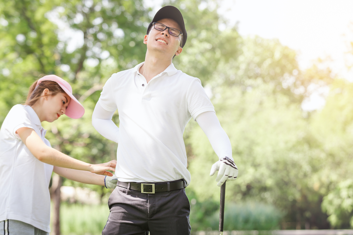 Using Biofreeze in Massage Therapy Treatment for Golfers