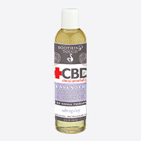 Soothing Touch CBD Clinical Cannabidiol Bath, Body & Massage Oil